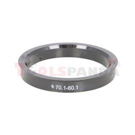 Centring ring (70,1/ 60,1, (PL) w opakowaniu 4 sztuki, cena za opakowanie)