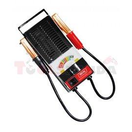 LBT100 Load battery tester 6/12V, served battery type: GEL, SLI, max. load 100 A