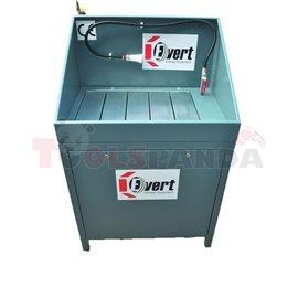 Професионална измивна вана, Капацитет: 500 кг, Вместимост на ваната 60 л, Работна площ: 780x575 мм, Работна височина: 800 мм, Ра