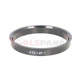 Centring ring (73,1/ 67,1, (PL) w opakowaniu 4 sztuki, cena za opakowanie)