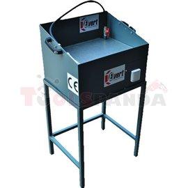 Професионална измивна вана, Капацитет: 50 кг, Вместимост на ваната 20 л, Работна площ: 490x390 мм, Работна височина: 900 мм, Раз