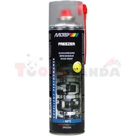 Фризер 0.5L, приложение: печени връзки, печени винтове незапалим, сух охлаждащ агент до -50 ° C