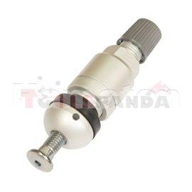 TPMS sensor valve, aluminiowy, Clamp-in, HUF, GEN 2, length: 43mm,