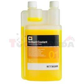 Капацитет на багрило с UV COOLANT ERRECOM (контраст): 250ML за проверка на херметичността на охлаждащите системи (водни охладите