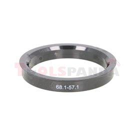 Centring ring (68,1/ 57,1, (PL) w opakowaniu 4 sztuki, cena za opakowanie)
