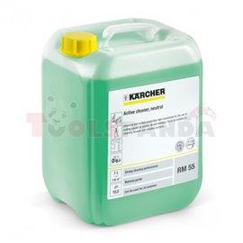 KARCHER RM 55 ASF uniwersalny środek do mycia, koncentrat do urządzeń bez podgrzewania wody, opakowanie 10 l