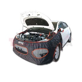 Protective cover (black, polyamide, for fender and bumper, reusable, 1 pcs) 450x400 mm