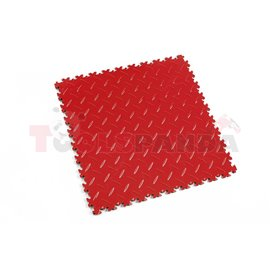 FORTELOCK Industry rosso red, diamond, tile size 510x510x7mm, load high, installation instructions - see technical data sheet, p