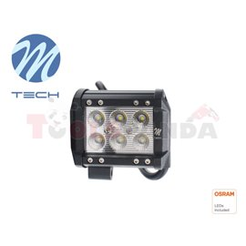 Working lamp, Osram Opto Semiconductors LED, number of diodes: 6, power max: 18W, voltage: 12/24/30V, Osram LED Inside, waterpro