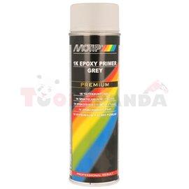 Епоксиден грунд, сив, 0,5 л, апликация: аерозол