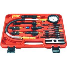 Комплект за проверка на налягането на компресия в дизеловите двигатели.