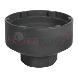 """Impact socket specialistic 3/4"""", metric size: 101 110mm, 6-protrusion cap, for axle nuts, protrusion height - 12mm MAN"""