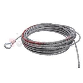 lina stalowa do wyciągarek 4x4 10000-14000lbs 9,2mmx28m