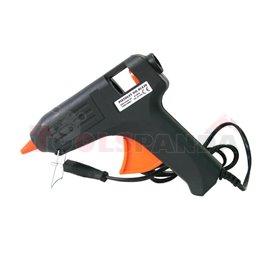 Hot glue gun, housing: plastic, colour: black 220-240V 11mm