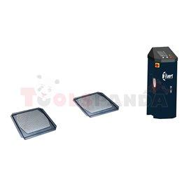 Хидравличен детектор на луфтове с дистанционно управление и вградена лампа LED.