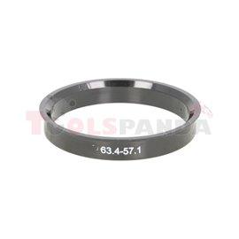 Centring ring (63,4/ 57,1, (PL) w opakowaniu 4 sztuki, cena za opakowanie)