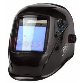 Przyłbica automatyczna APS-958E BLACK ze zmiennym stopniem ochrony DIN 4/5-8/9-13, zmiennym czasem rozjaśniania i możliwością us