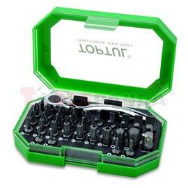 """Комплект отвертки, тип комплект: миксиран, шестостен, отворен край, кръстата ph, размер pz, torx, torx tamper rozmiar: 1/4"""", 3 4"""