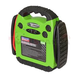 Starting device, voltage: 12 V, cCA: 400 A, cable length: 0,78 m, weight: 6,6 kg