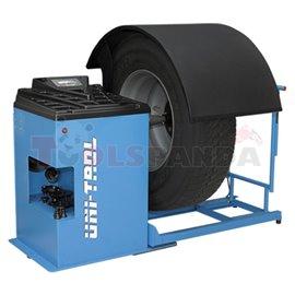 Баланс машина TROLL – 2322 за баланс на леки и товарни гуми. LCD дисплей, подсказва метода за действие по време на баланс, автом