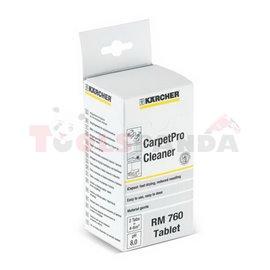 KARCHER Mocny środek do czyszczenia dogłębnego metodą ekstrakcji w tabletkach. RM 760 16 tabletek
