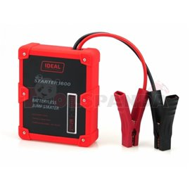 Batteryless starting device model: ULTRA STARTER, voltage: 12V, cCA: 800A, max. cranking ampere: 1600A, weight: 2,3 kg, the devi