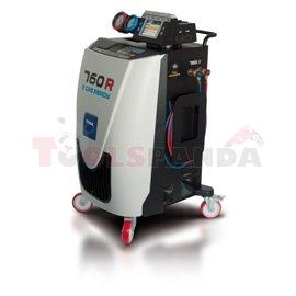 Климатична станция за зареждане на климатик 760R. Охлаждащ агент R1234YF. За леки (включително и хибридни), лекотоварни, товарни