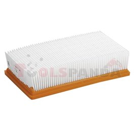 Filter Flat corrugated (PES polyester fibre fits NT 25/1, NT 35/1, NT 45/1, NT 55/1, NT 611)