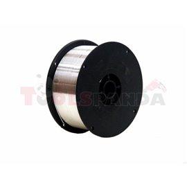Макара заваръчна тел алуминии + магнезий, с диаметър 0.8, тегло 0.45 кг