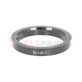 Centring ring (70,1/ 57,1, (PL) w opakowaniu 4 sztuki, cena za opakowanie)