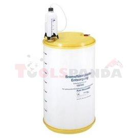 Оборудване ATE спирачна система течност разположение 220 за събиране и сортиране на използвани спирачна течност в запечатани кон