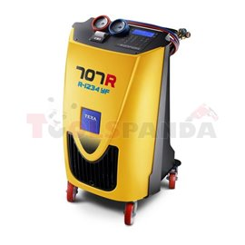 AC service station KONFORT 707R (R1234yf), operation mode: automatic/manual, served vehicle type: agricultural machinery/ hybrid