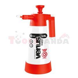 Ръчен диспенсер, Venus Super Acid 1.5L HD за приложения с киселинна химия, напр. Изплакващи почистващи продукти