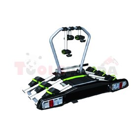 Bicycle transporter (platform) For tow hook X CARRIER - TB-009D3 fastening For wheels and frame, number of bicycles: 3 (max. veh