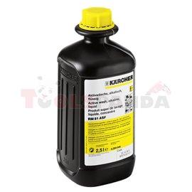 KARCHER RM 81 ASF Aktywny środek czyszczący, opakowanie 2,5l, koncentrat, dozowanie: 1-5% Usuwa silne zabrudzenia olejowe, tłusz