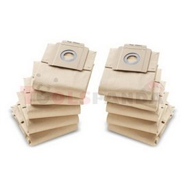 Filtering bags (10 pcs paper two-ply)