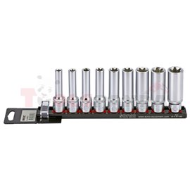 Комплект вложки, размер на щифт: 1/2, видове инструменти: вложка(и) torx-e, специален размер: E10 E11 E12 E14 E16 E18 E20 E22 E2