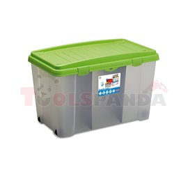 Кутия за съхранение Stefanplast 120L, Linea Storage ЗК