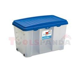 Кутия за съхранение Stefanplast 120L, Linea Storage СК
