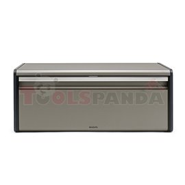 Кутия за хляб Brabantia Fall Front Platinum