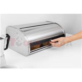 Кутия за хляб Brabantia Roll Top Brilliant Steel