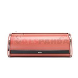 Кутия за хляб Brabantia Roll Top Terracotta Pink