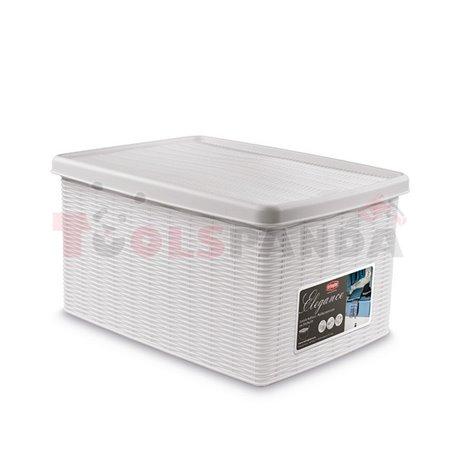Универсална кутия Stefanplast Elegance M, бяла