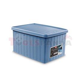 Универсална кутия Stefanplast Elegance M, синя