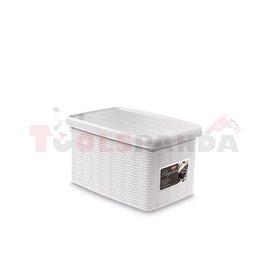 Универсална кутия Stefanplast Elegance S, бяла