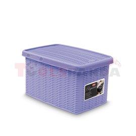 Универсална кутия Stefanplast Elegance S, лилава