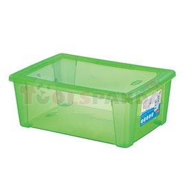 Универсална кутия Stefanplast Visual Box L, 10L, зелена