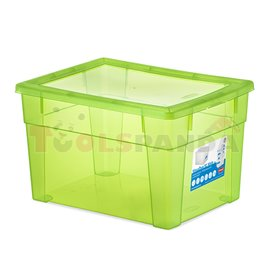 Универсална кутия Stefanplast Visual Box XL High, 15L, зелена