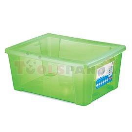 Универсална кутия Stefanplast Visual Box XL, 15L, зелена