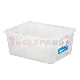 Универсална кутия Stefanplast Visual Box XL, 15L, прозрачна